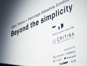 Beyond the simplicity (2015/TOKYO)