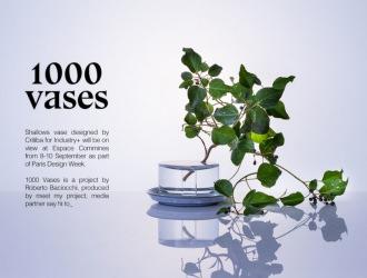 1000 vases  -PARIS DESIGN WEEK 2018-